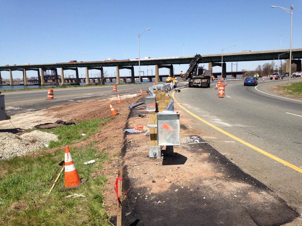 Newark Bay Bridge Route 440 Realignment With Tishman